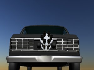 free van 3d model