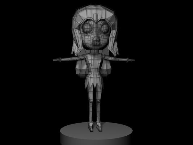 cartoon character princes 3d 3ds
