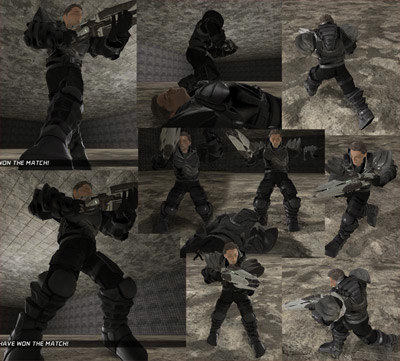 character ready udk 3d model