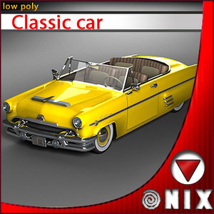 car yellow green obj