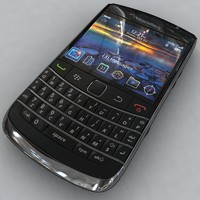 blackberry bold 9700 3d model