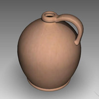 3d model jug pitcher