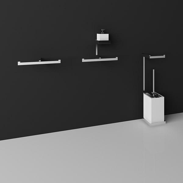 3d gessi toilet roll model