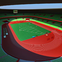 3d athletics stadium