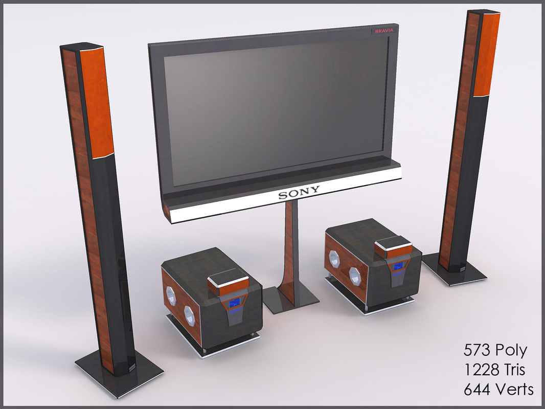 3d sony home theatre model