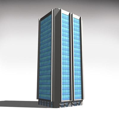 building 18 3d model