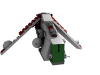 lego star wars clone 3d model