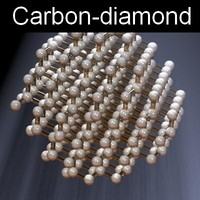 molecule diamond 3d max
