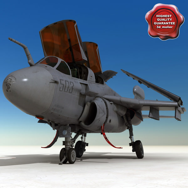 3d model ea-6b prowler