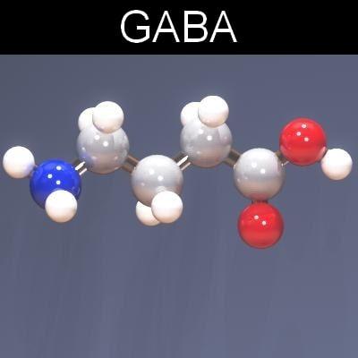 3d max molecule gaba