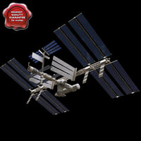 international space station 3d 3ds