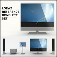 Loewe Reference 52 Home Theatre Media Room Equipment