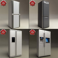 refrigerators set modelled lwo