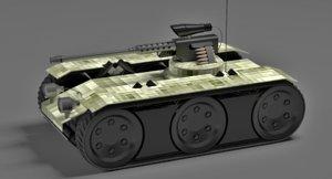 3ds tank robotic