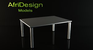 cool table 3d model