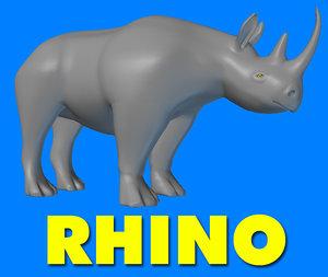 3d model rhino