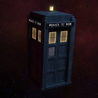 tardis time space 3d model