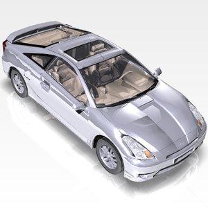3ds max car toyota celica sport