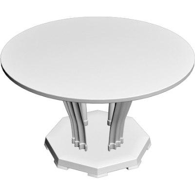 entrance table 3d obj