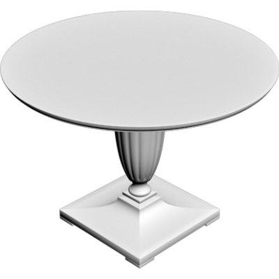 3d entrance table model