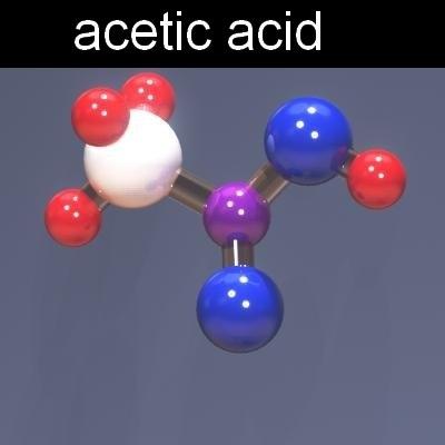 فرمول اسید استیک