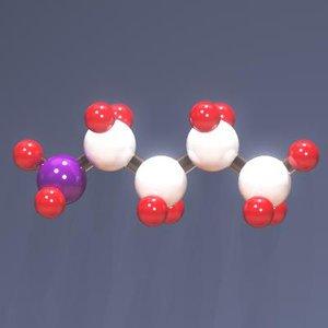 molecule 3d max
