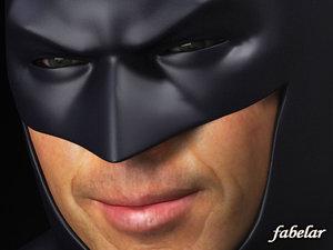 max batman head