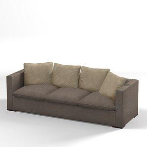 3d model casamilano modern sofa