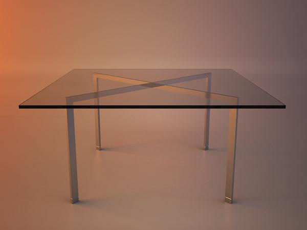 table tugendhat mies van max