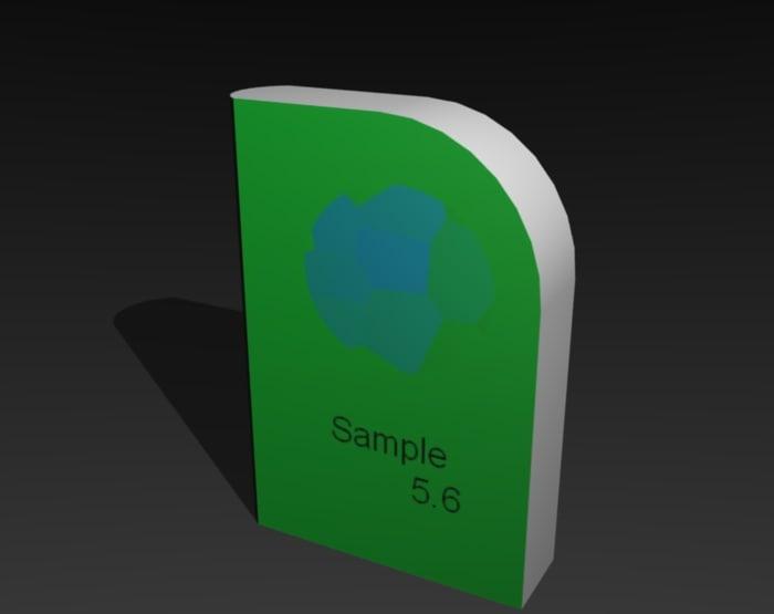 3d case model