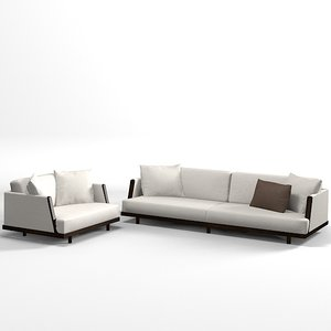 3ds max giorgetti sofa chair