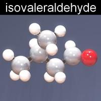 molecule isovaleraldehyde max