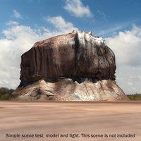 mountain terrains 3d model