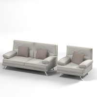 sofa chair melodie 3ds