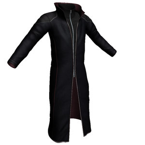 cloth leather 3d model