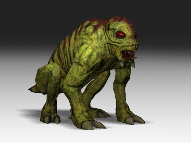 Monster reptile creature 3d model for Monster 3d model