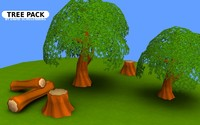 Trees Pack - Low Poly