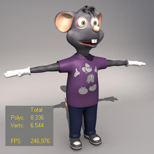 rigged animation maps 3d max