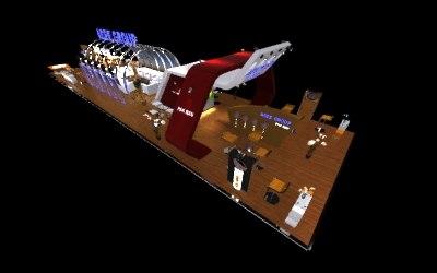 3d exhibition trade modular