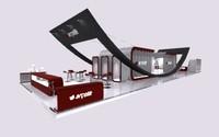 3d exhibition trade modular model