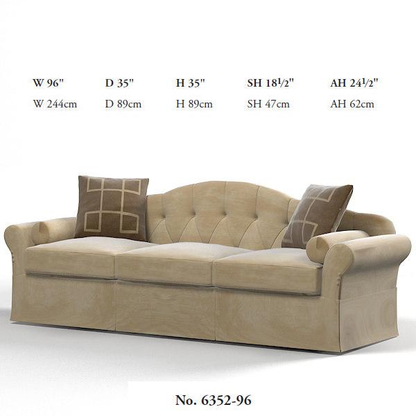 3ds max baker camel sofa