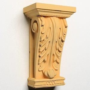 classical decoration ornamental 3d model