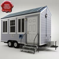 caravan modelled 3d model