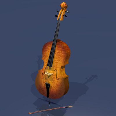3ds classic cello