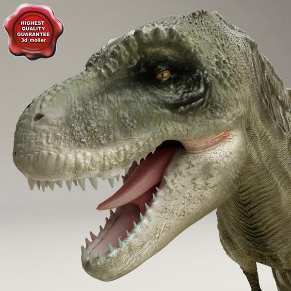 dinosaur t-rex 3d model