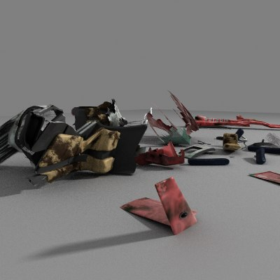 helicopter debris max
