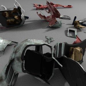 maya helicopter debris