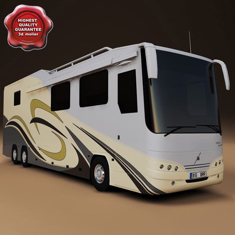 3d motorhome vario perfect model