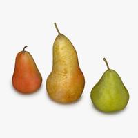 3dsmax 3 pears