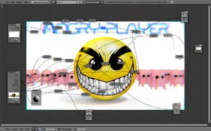 free compositing pacman 3d model